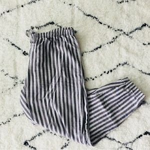 Victoria's Secret Striped Sleep Pants
